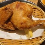 素揚げ酒場 パリパリ - 大山鶏 パリパリ半身揚げ980円(税抜)