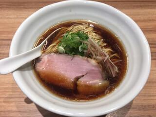 うえ原 - 芳醇鶏そば(900円)