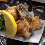 海鮮料理 食彩 太信 - あんこうの唐揚げ。