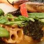 115232372 - 鎌倉野菜たっぷり、チキンほろほろ、スープカレー