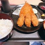 築地 刺天 - フライ定食