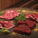 115233351 - ◆特選赤身肉盛り合わせ(2名様盛り) 4,800円(税別)