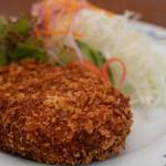 キッチンさつま - 料理写真:2019.9 黒豚メンチカツ単品(1,231円、内税)