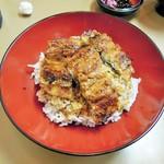 阪大 うなぎや - 料理写真:鰻丼(上)