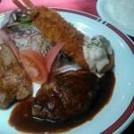 レストランリベラ - 料理写真:リベラセット