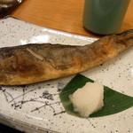 別海町酒場 - この日の焼魚はほっけ