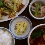 中国料理 珍満 - 【再訪:2012.2.6】この日のAランチ(840円)