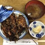 天ぷら 中山 - 天丼 1,100円(税込)