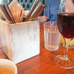 ロイヤル ガーデン カフェ - テーブルセット