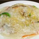 台湾料理 味源 - 料理写真:「フカヒレあんかけ炒飯」