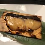 115241674 - 銀鱈味噌柚庵杉板焼き