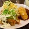 オリーブ・キッチン  - 料理写真:鱧フライ定食ミニクリームコロッケ付き