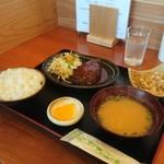 お食事処 久松 - 料理写真:本日の日替り定食(ハンバーグ)
