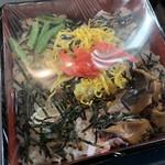 やなぎ屋 - 鮭ちらし寿司¥275※要予約