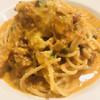 バッボ - 料理写真:牛肉のトマトクリームスパゲティ