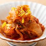水炊き 豊満 - キムチ