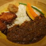 ブルックスカレー食堂 - ザンギカレー