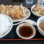 11525100 - W餃子定食ライス大盛り( '12.02)
