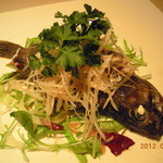 蔭山樓  - シェフおまかせ。魚料理(夜のコース)