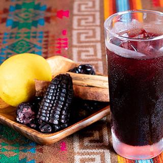 現地直送!日本では珍しいペルーのお酒やお茶を豊富にご用意◎