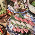 寿司居酒屋 喜八 - コース料理