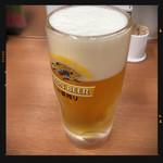 日高屋 - 生ビール 290円