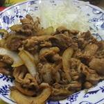 ひっぱりだこ - 豚生姜焼き