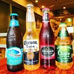 アボカフェ - 瓶ビール色々