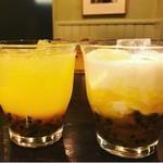 アボカフェ - パッションフルーツ酢カッシュ
