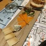 ひとはし - チーズ3種1,200円
