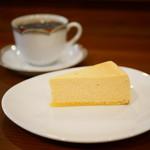 もなか珈琲 - チーズケーキ