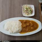 アジアご飯とお酒のお店 Shapla 神田店 - チキンカレー