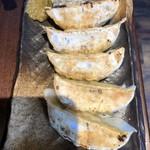 麺Dining比内地鶏白湯らーめん志道 - 肉汁おとど餃子