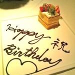 11527515 - 誕生日のケーキ