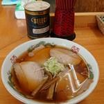くどうラーメン - チャーシュー麺(中)。