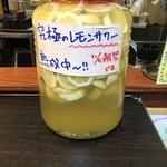 ZANGI一番 - 11/5解禁!究極のレモンサワー熟成中9/6現在