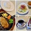 ウォールデン - 料理写真:ハンバーグセッ+(ドリンク・スィーツ) 1130円