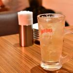 海南鶏飯食堂3 - アジアンレモングラスハイボール@640円