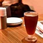 海南鶏飯食堂3 - 金シャチ名古屋赤味噌ラガー@750円