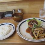 だんでぃらいおん - 料理写真:だんでぃ定食