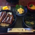 秋月 - 並うな丼 ¥1,800(税込)
