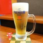 ばるらんて  - 生ビール ¥450