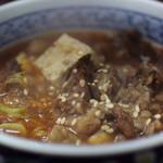 萬太郎 - 牛すじ煮込み(辛口)