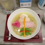 SOBA DINING QUATTRO(ソバダイニング クワトロ) - 空 味玉(鶏旨味塩そば)