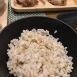 トータルダイニング アグン - ごはんは玄米