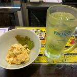 鶏太郎 - 玉子サラダ+ライム