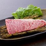 肉のきっしゃん - 料理写真:イチボなどの希少部位は一頭買いならではのメニューです