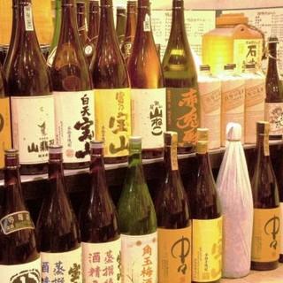 お肉に負けない日本酒をご用意しております