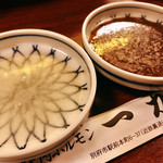 焼肉 一力 - 料理写真:このタレが絶妙に旨い♪