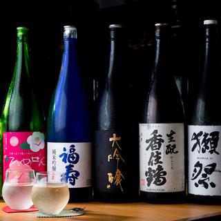 定番から希少酒まで!来店毎に楽しめる新しい日本酒との出会い